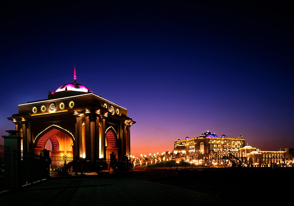 Emirates Palace, managed by Kempinski 5*